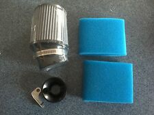 Clone Air Filter with Foam and Velocity Stack Air Filter Adapter Predator Hemi