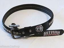 Hitman Fight Gear Men's belt UFC MMA 36 black leather belt 2-1004 t1519 NEW *^