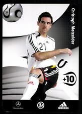 Christoph Metzelder DFB Autogrammkarte 2006  Original Signiert+91905 + A 68247