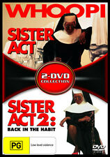 Sister Act / Sister Act 2: Back in the Habit * NEW DVD *