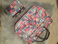 LeSportsac Everygirl Tote Handbag One size + Zip Pouch EUC