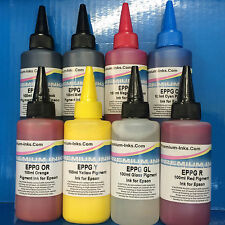 800ml PIGMENT PRINTER INK REFILL BOTTLES EPSON STYLUS PHOTO R1900 R2000 NON OEM
