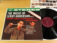 MERCURY Living Presence STEREO SR-90009 Music Of Leroy Anderson NO.1 FENNELL NM-
