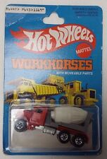 Hot Wheels 1979 Workhorses Peterbilt Cement Mixer No.1169 (HW-B)