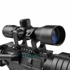 New Tactical 4 x 32 Air Rifle Optics Sniper Scope Reviews Sight for Hunting