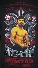 Nike Manny Pac-Man Pacquiao Impact Day Dri-Fit Shirt Medium Boxing