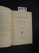 IL CANZONIERE DI PETRARCA 1853