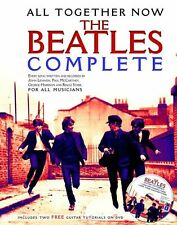All Together Now The Beatles Complete Play Piano Guitar Music Book & DVD