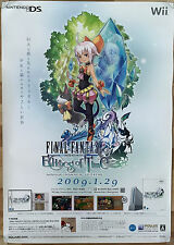 Final Fantasy Echoes of Time RARE Wii NDS 51.5cm x 73cm Japanese Promo Poster #2