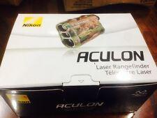 Nikon ACULON 6x20 Compact Laser Rangefinder Green 8398 Brand New