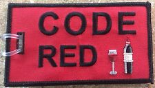 FUNNY BAG TAGS FOR AIRLINE INDUSTRY. CODE RED