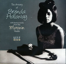 "THE ARTISTRY OF BRENDA HOLLOWAY  ""WITH BONUS TRACKS FROM THE MOTOWN VAULTS"""