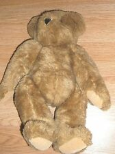 "VERMONT TEDDY BEAR-JOINTED BROWN BEAR-VGC!  16""H"