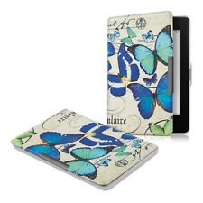 Borsa PELLE PER Amazon Kindle Paperwhite FARFALLE VINTAGE ECOPELLE