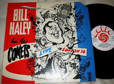 BILL HALEY & COMETS - LIVE IN LONDON 1974 - UK ANTIC STEREO - 1974
