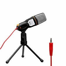 Professional Condenser Microphone Audio Sound Recording for Laptop PC Computer