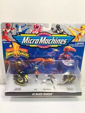 Galoob Mighty Morphin Power Rangers Micro Machines Collection #2 Black Ranger