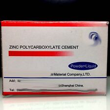 DENTAL PERMANENT TOOTH FILLING CEMENT KIT Zinc Polycarboxylate Cement Aus