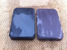 PAIR OF  NATURAL  HONE SHARPENING STONE IDEAL FOR AXE HATCHET  RAZOR BLADE