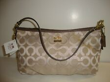 Coach Madison Op Art Lurex Demi Top Handle  ~ 46659
