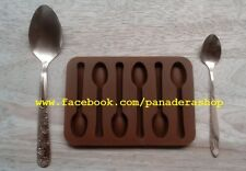 Teaspoon Not Spoon Chocolate Fondant Clay Jelly Soap Silicone Mold Molder