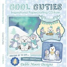 Debbi Moore Designs Cool Cuties Inspirational Papercrafting CD Rom 321452