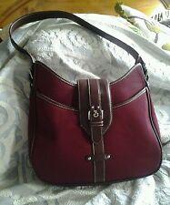 handbags  Burgandy Hobo Handbag by Etienne Aigner  Never Carried  GREAT BUY