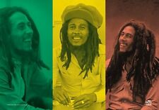 BOB MARLEY - RASTA COLLAGE - FABRIC POSTER - 30x40 WALL HANGING 51831