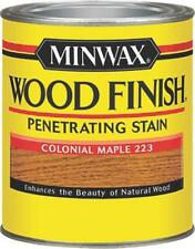 NEW MINWAX 22230 COLONIAL MAPLE INTERIOR OIL BASED WOOD FINISH STAIN 7965163