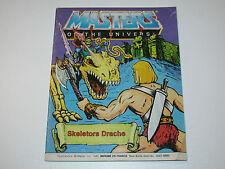 MOTU HE-MAN MASTERS OF THE UNIVERSE MINI COMIC 1984 SKELETOR'S DRAGON DE IT FR