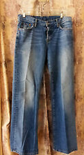 """Lucky Brand """"Easy Rider"""" Button Fly Jeans Women's 8/29 Regular Inseam Made in US"""