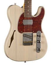 G&L Tribute ASAT Classic Bluesboy Semi-Hollow Electric Guitar Rosewood Blonde