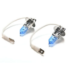 2 X H3 Super Bright White Light Lamp Auto Car Halogen Bulb Headlight 12V 55W