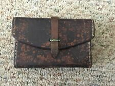 ORIGINAL 1918 US ARMY BAR LEATHER SPARE PARTS POUCH, JEWELL MANUFACTURE