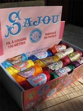 Sajou French Vintage Style Box of 24 Sewing Thread Cocoons- Modern colours