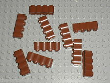 LEGO RedBrown brick log ref 30137 / Set 10210 4754 4737 7019 10236 6243 10193...