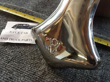 NEW SINGLE STAINLESS STEEL EXHAUST V-8 TIP FOR THE FORD CARS AND TRUCKS !