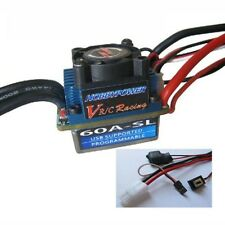 Hobbypower Racing 60A SL V2 Brushless Speed Controller ESC for RC 1/10 Car Truck