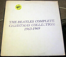 The Beatles Complete Christmas Collection: 1963-1969 TMOQ Blue Vinyl (NM)