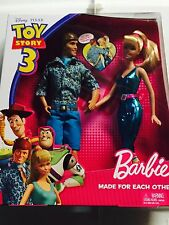 Toy Story 3 Barbie & Ken Made For Each Other Giftset NEW