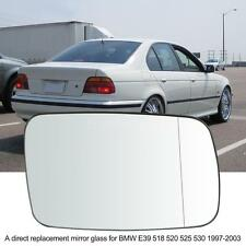 Right Door Wing Mirror Glass Heated for BMW E39 518 525 530 520 1997-2003 X1N0