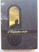 1974 LEE'S SUMMIT HIGH SCHOOL, YEAR BOOK, LEE'S SUMMIT MISSOURI  UNMARKED