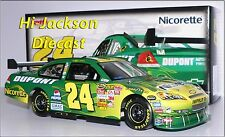 JEFF GORDON 2007 #24 NICORETTE CAR OF TOMORROW NASCAR DIECAST RACE CAR 1/24
