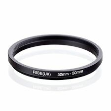 52mm-50mm  52mm to 50mm  52 - 50mm Step Down Ring Filter Adapter for Camera Lens