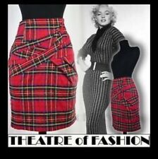 Warehouse Tartan Bandage Body con 50's Pinup Skirt 10