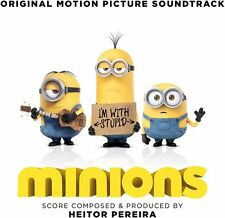 MINIONS CD - ORIGINAL MOTION PICTURE SOUNDTRACK (2015) - NEW UNOPENED