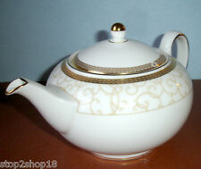 Wedgwood Celestial Gold Teapot 28 oz. NEW