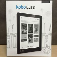"Kobo Aura 6"" Digital eBook Reader 4 GB With Touchscreen Backlight - Black"