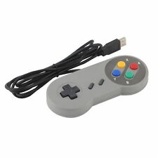 1 x Retro Super Nintendo SNES USB Controller for PC/MAC Controllers SEALED FH