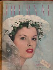 1947 Ladies Home Journal June - Stones of Pawling NY, Unwed mothers,Another war?